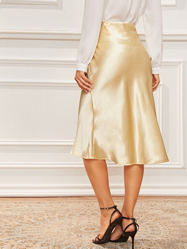 Slip into Satin Midi