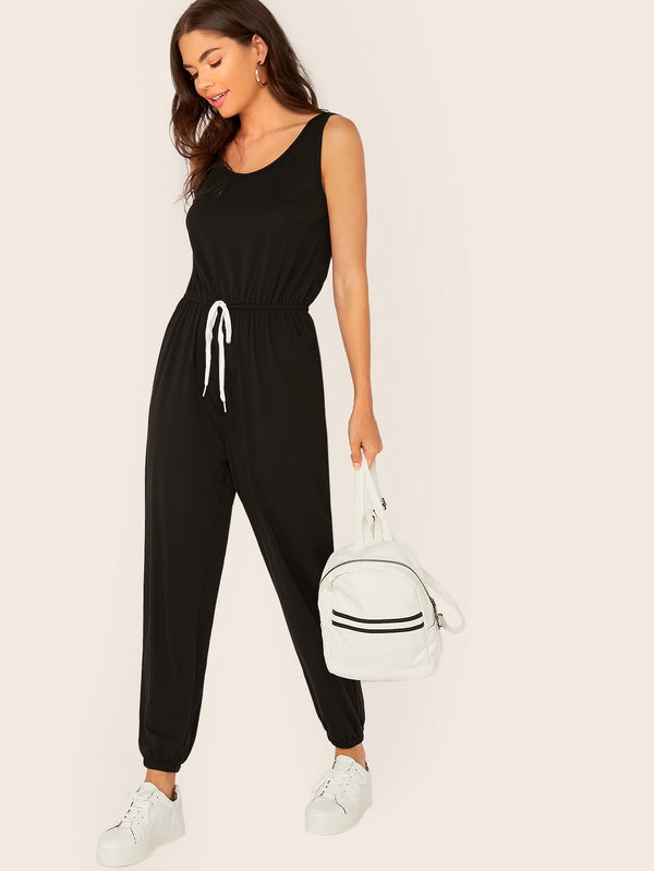 Running Through Town Athleisure Jumpsuit