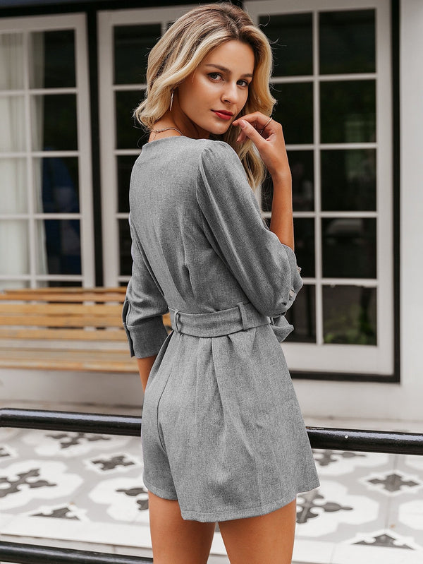 Commitee Belted Romper