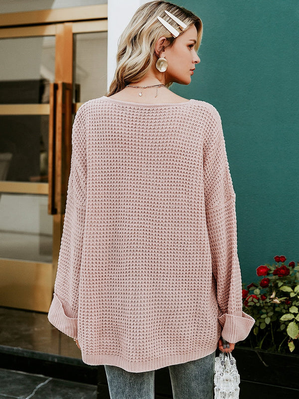 Lets Cuddle Pocket Front Sweater