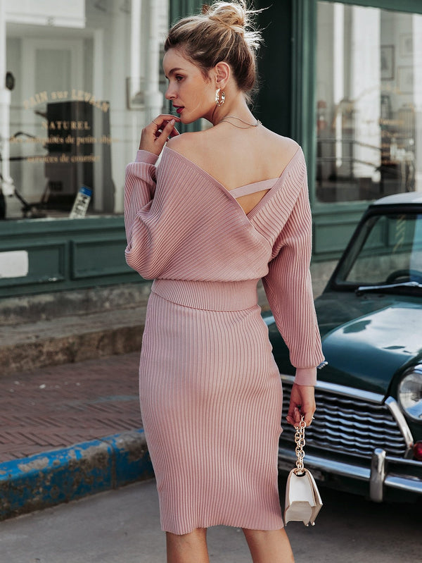 Simply Sweet Sweater Top & Skirt Set