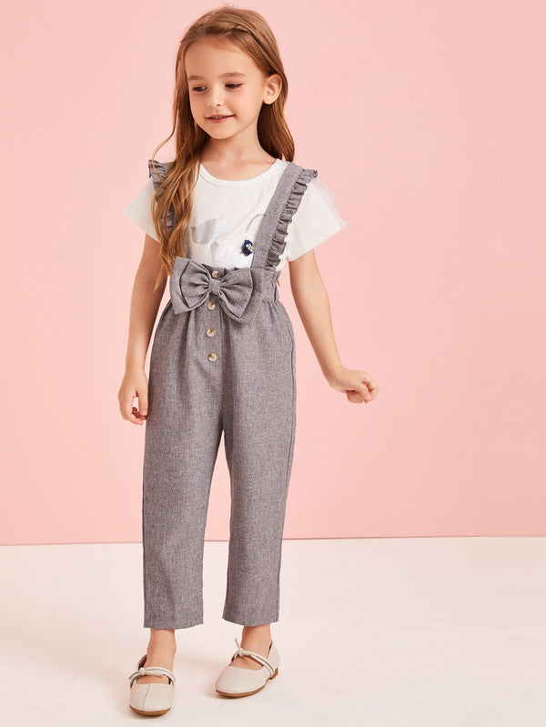 Bow To The Princess Jumpsuit