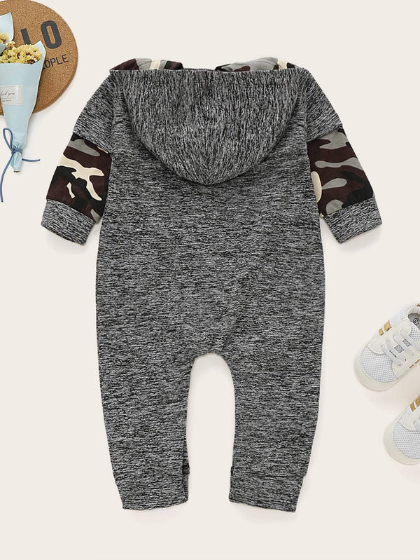 Baby Boy Camo Jumpsuit