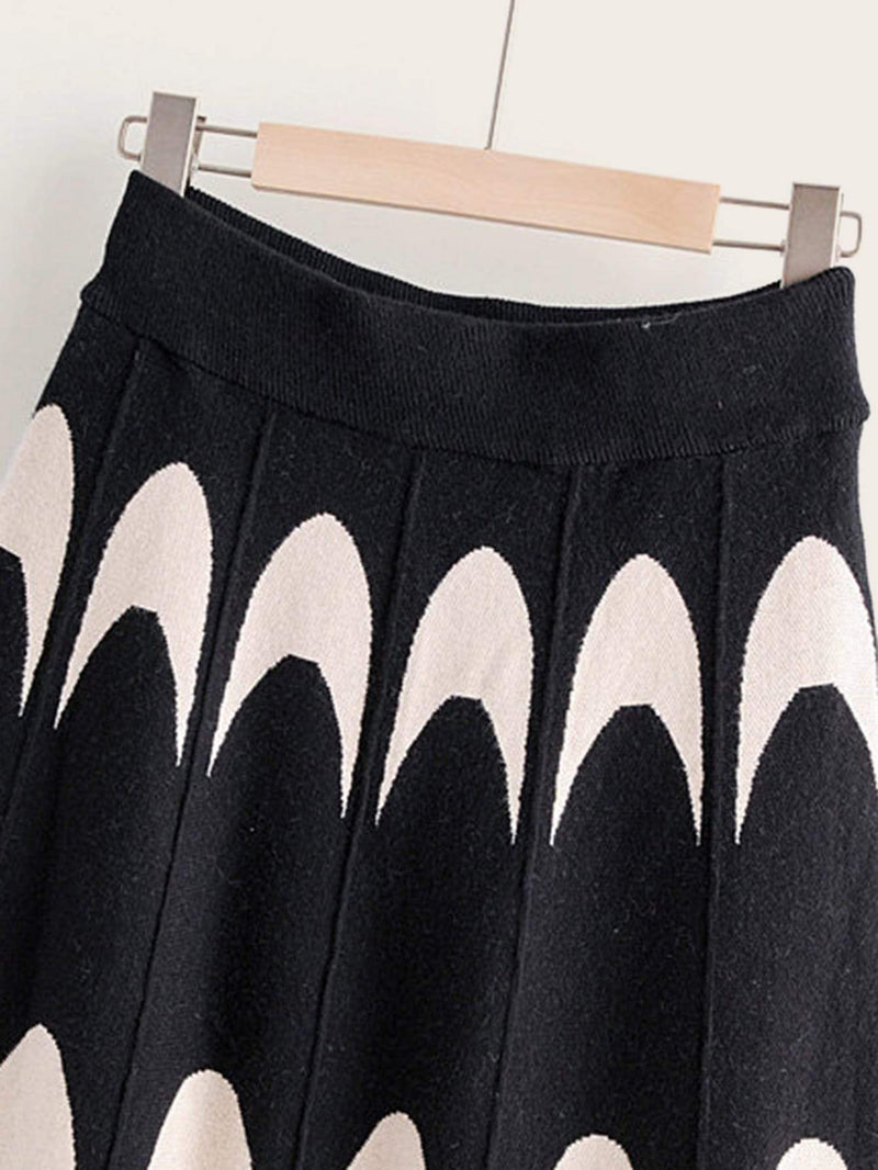 Send The Flares Sweater Skirt
