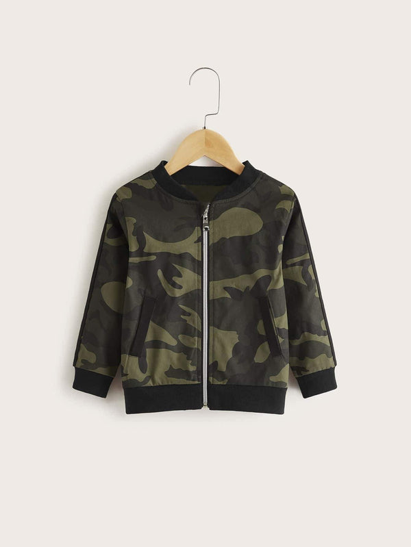 GI Joe Bomber Jacket - Toddler Boys