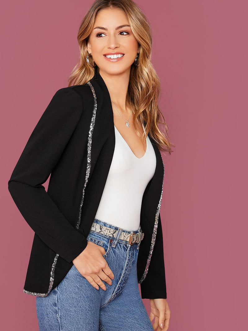 Touch Of Glitz Tailored Blazer