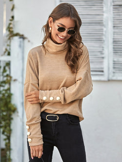 Mother Of Pearl Turtleneck Sweater