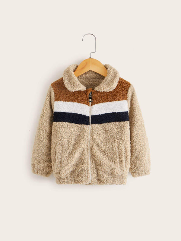 Toddler Teddy Jacket