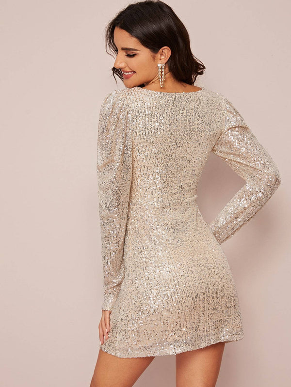 Born To Shine Sequin Dress
