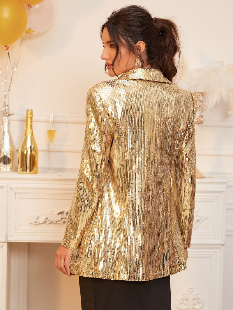 Blaze The Path Sequin Blazer