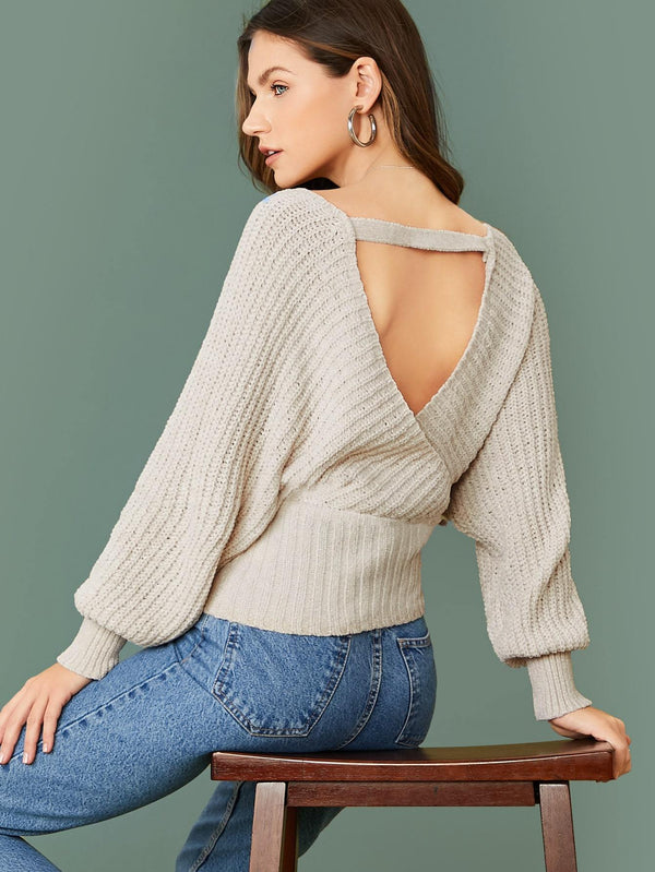 Cross My Heart Knit Sweater