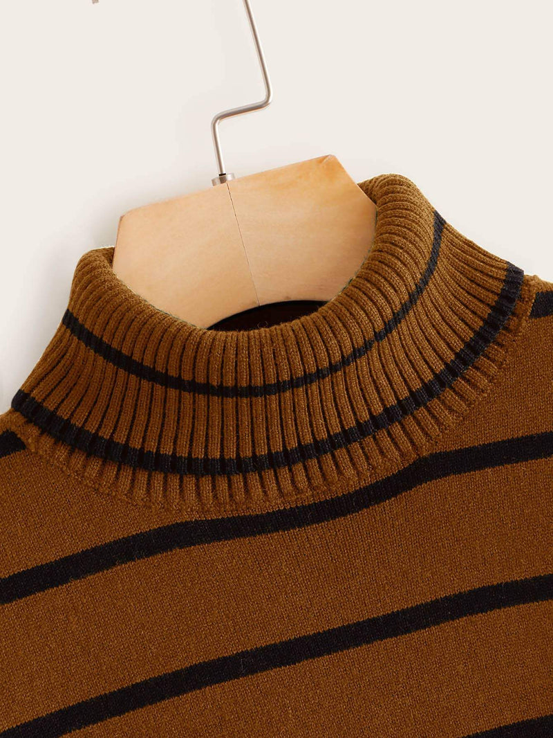 Hot Chocolate Striped Sweater