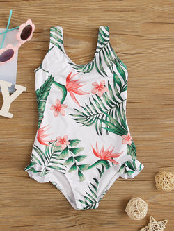 Take Me To The Tropics One Piece Swimwear