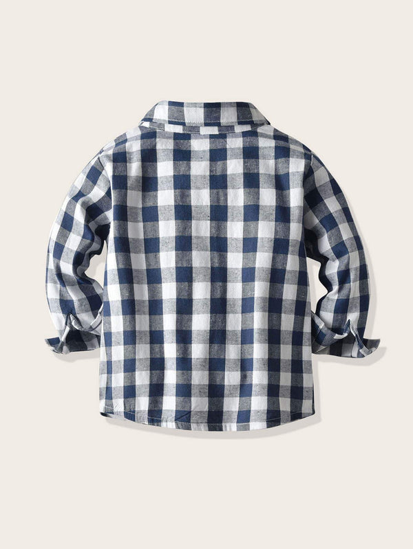 Buffalo Boy Plaid Shirt - Toddler Boys