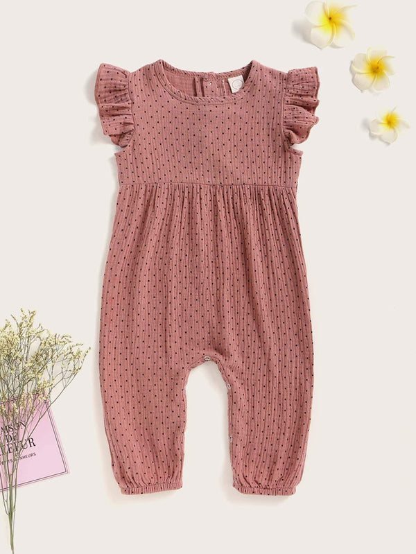 Baby Girl Polka Dot Jumpsuit