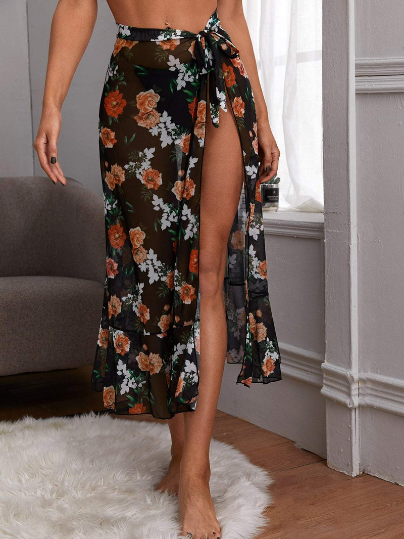 Fancy in Floral Sarong