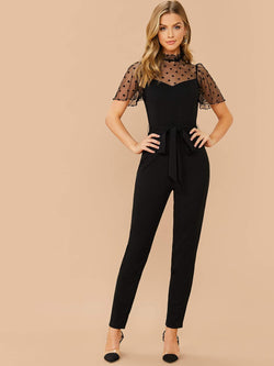 Sheer To Please Jumpsuit