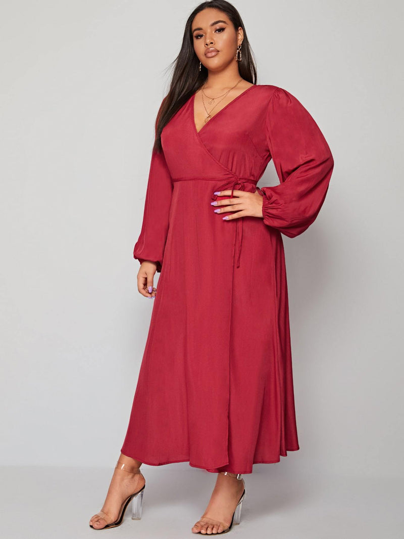 Wrapped In Love Dress - Curvy