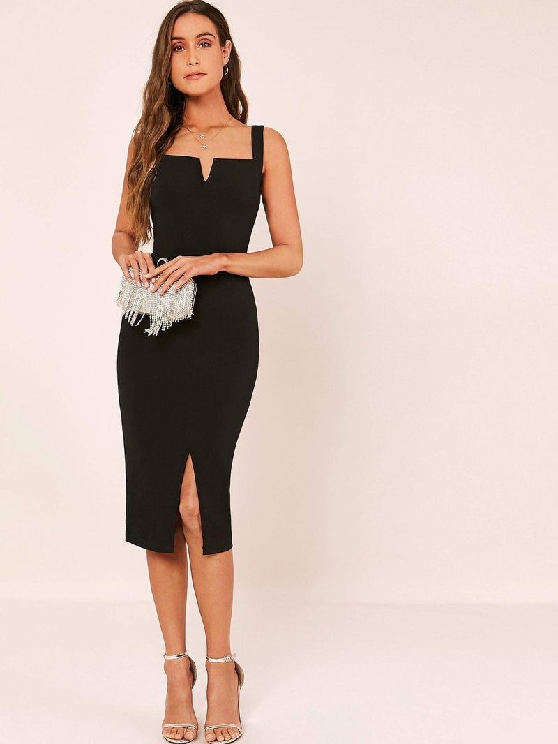 Hamptons Split Hem Dress