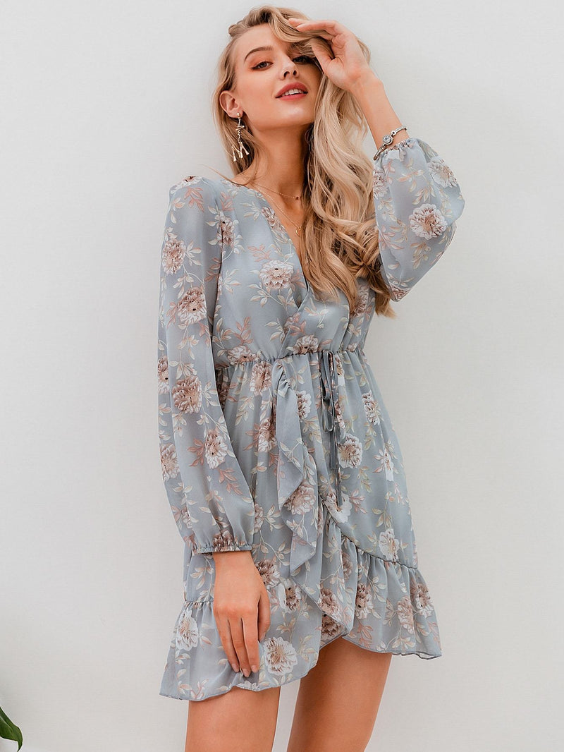 All In Floral Dress