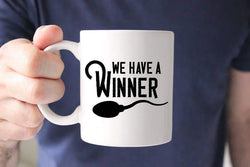 Sweet Mint Handmade Goods - 15oz We Have A Winner Mug