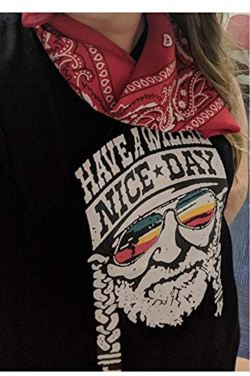 Have A Willie Nice Day Short Vintage T-Shirt