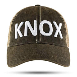 Knox Black 3D Embroidered Hat