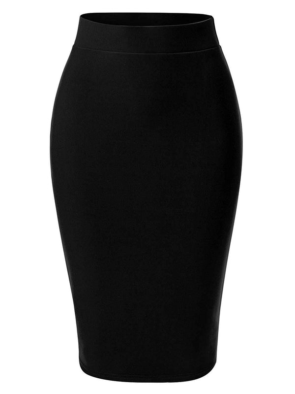 Sharp As A Pencil Bodycon Skirt