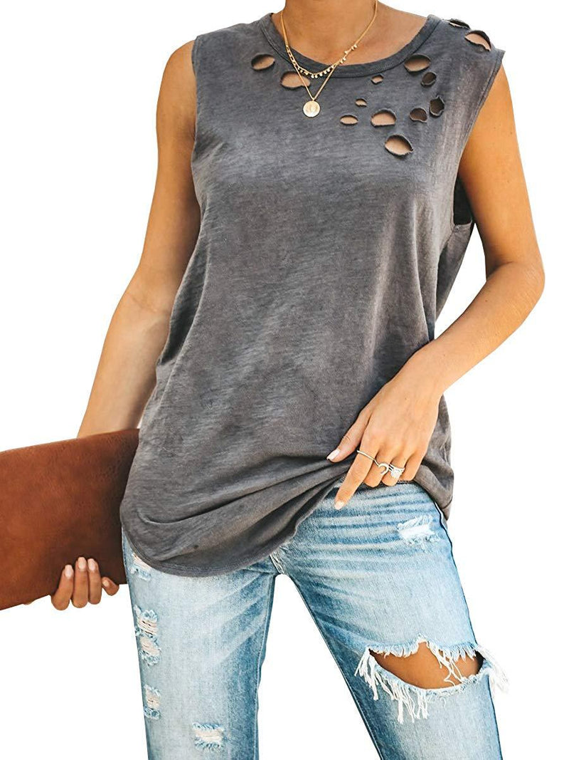 Hampton Distressed Tank