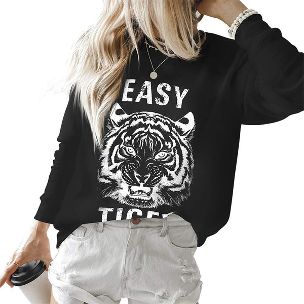 Easy Tiger Pullover Sweatshirt
