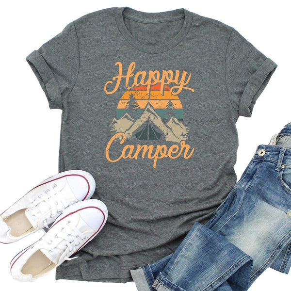 Happy Camper Vintage T-Shirt
