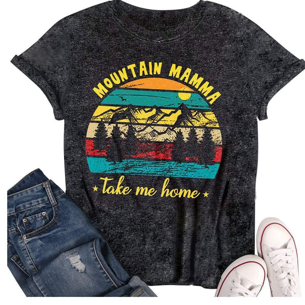 Mountain Mamma Take Me Home Vintage T-Shirt