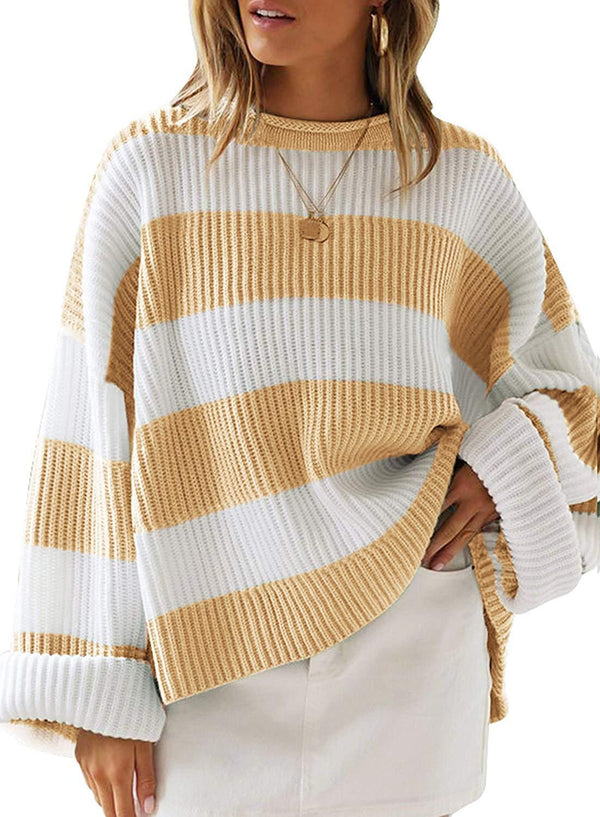 Extended Stay Oversized Knitted Pullover Sweater