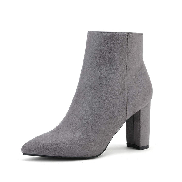 On HolidayChunky High Heel Ankle Booties