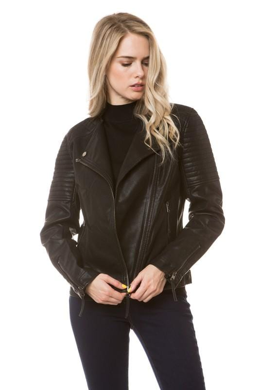 The Brit Vegan Leather Jacket
