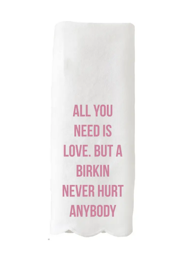 All you need is love tea towel - Preorder