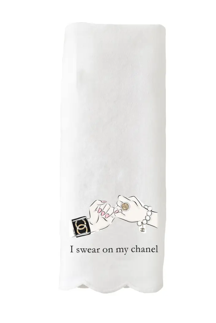 I swear on my Chanel Tea Towel - Preorder