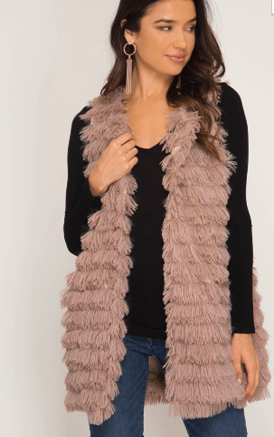 Fur Get Me Knox Vest - Final Sale