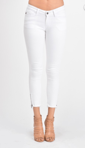 Newport Beach White Denim