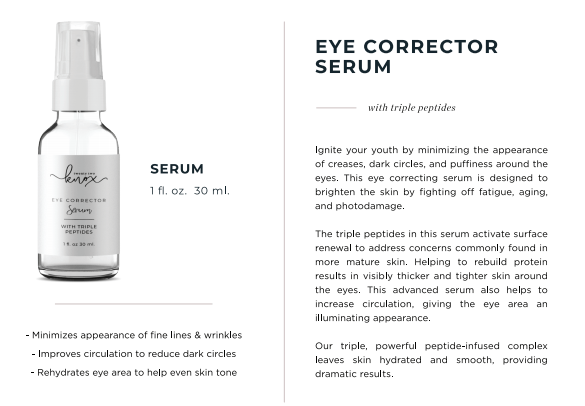 Eye Corrector Serum with Triple Peptides