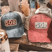 508 Local Vintage Baseball Hats