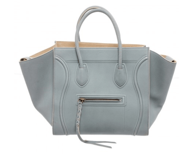 Celine Light Blue Medium Phantom Calfskin Bag