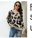 123 Leopard Sweater