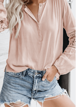 Follow Me There Lace Top - Preorder