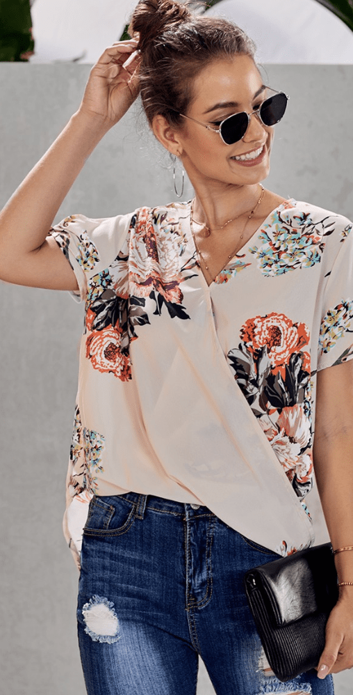 Blooming in Spring Top - Preorder