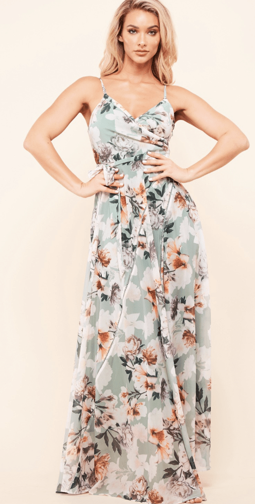 Floating Floral Dress - Preorder