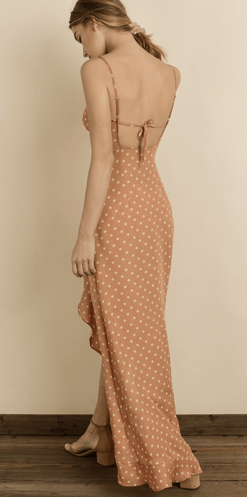 Connecting Dots Ruffle Maxi - Preorder