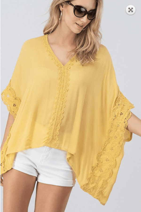 Hathaway Lace Poncho - Preorder