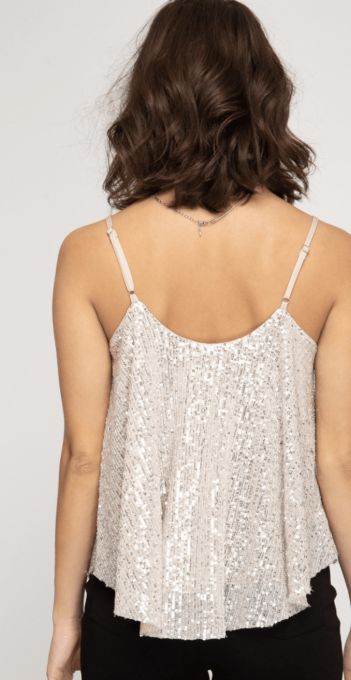 Harrington Sequins Cami - Preorder