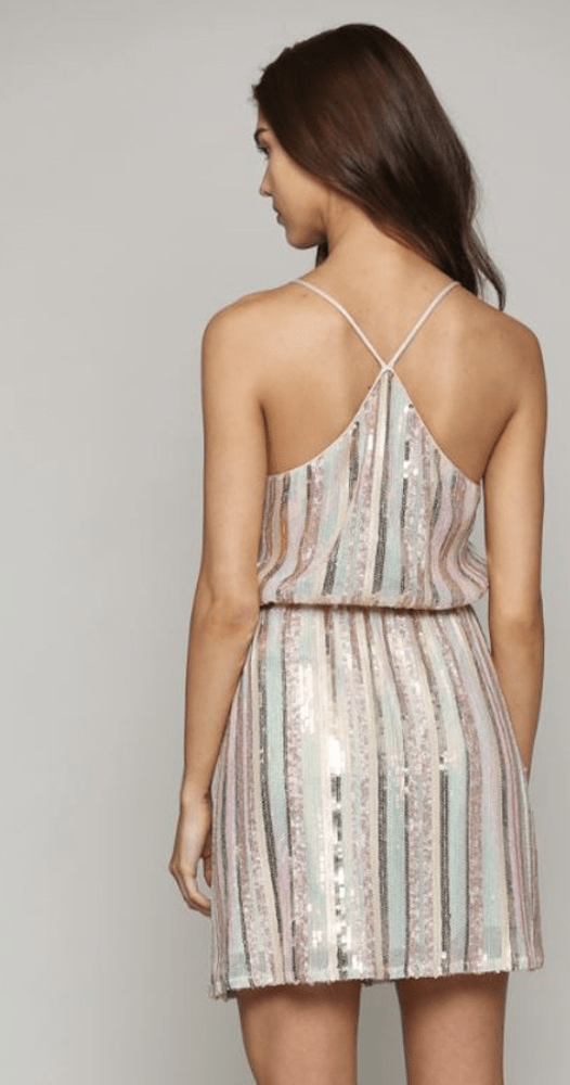 Aura Sequins Dress - Preorder